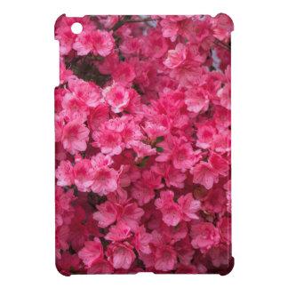 Hot Pink Azalea Blossoms iPad Mini Cover