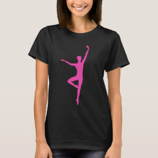Hot Pink Ballet Dancer Shirt