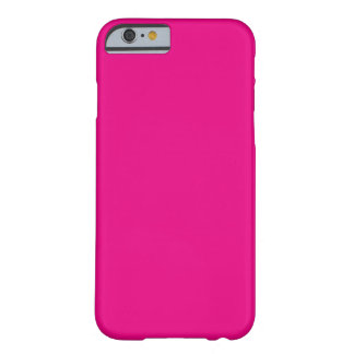 Hot Pink Barely There iPhone 6 Case