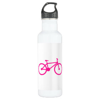 Hot Pink Bicycle; bike 710 Ml Water Bottle
