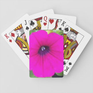 Hot Pink Blossom Themed Classic Playing Cards