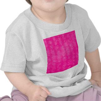 Hot Pink Bubble Wrap Effect Tshirt