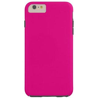 Hot Pink Tough iPhone 6 Plus Case