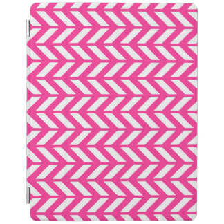 Hot Pink Chevron 4 iPad Cover