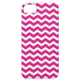 Hot Pink Chevron iPhone 5 Cases