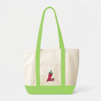 Hot Pink Chili Pepper Impulse Tote Bag