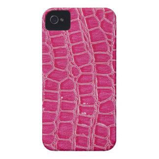 Hot Pink Croc Crocodile Mate ID™ iPhone 4/4S Case