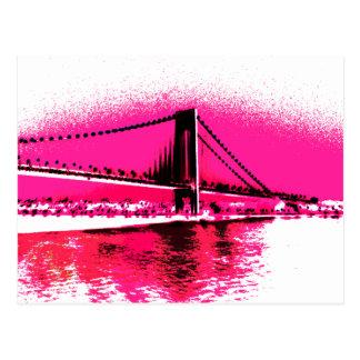 Hot Pink Crossing postcard