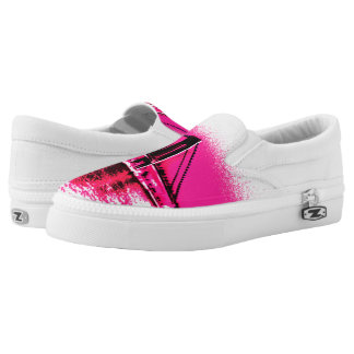 Hot Pink Crossing Z slipons Slip-On Sneakers