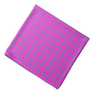 Hot Pink Cute Modern Trendy Pattern Bandana