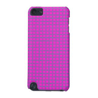 Hot Pink Cute Modern Trendy Pattern iPod Touch (5th Generation) Cover