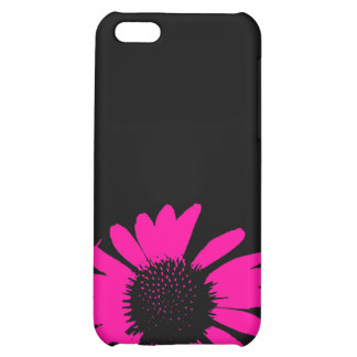 Hot Pink Daisy iPhone 5C Covers