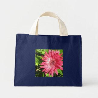 Hot Pink Daisy Totebag Mini Tote Bag