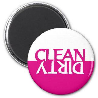 Hot Pink Dishwasher Magnet