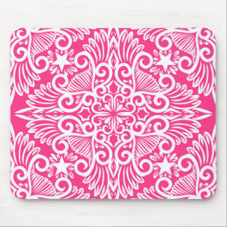 Hot pink Dream root Mouse Pad