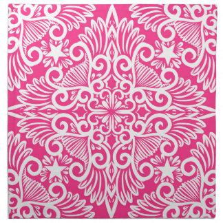 Hot pink Dream root Napkin
