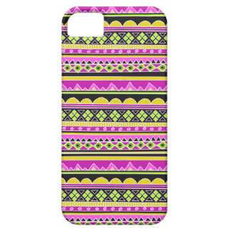 Hot Pink ethnic pattern iPhone 5 Cases