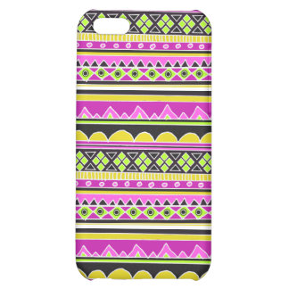 Hot Pink ethnic pattern Cover For iPhone 5C