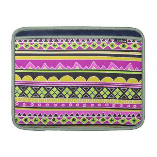 Hot Pink ethnic pattern MacBook Air Sleeve