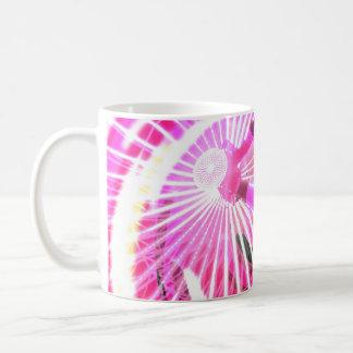 Hot Pink Ferris Wheel Classic White Coffee Mug