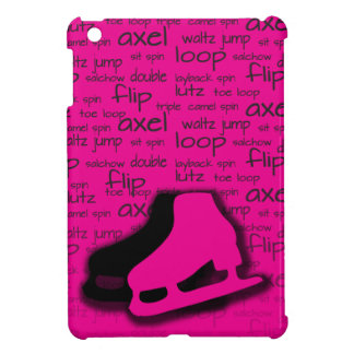 Hot Pink Figure Skating Mini iPad Cover