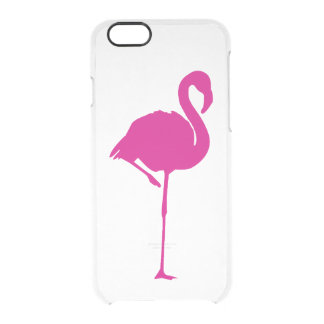Hot Pink Flamingo iPhone 6/6s Deflector Case