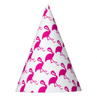 Hot Pink Flamingo Party Hat