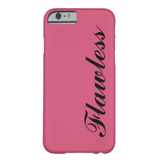 Hot Pink Flawless Barely There iPhone 6 Case