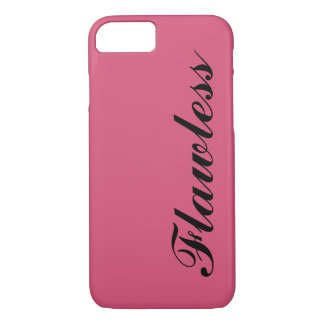 Hot Pink Flawless iPhone 7 Case