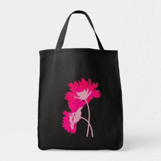 Hot Pink Flowers Purse