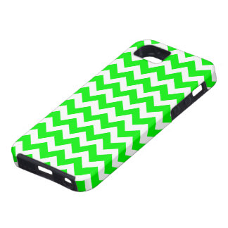Hot Pink Fluorescent Green iPhone 5 Cover