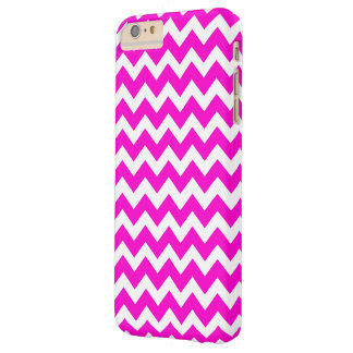Hot Pink Fluorescent Pink Barely There iPhone 6 Plus Case