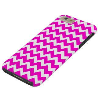 Hot Pink Fluorescent Pink Tough iPhone 6 Plus Case