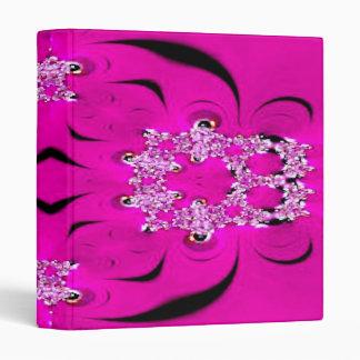 Hot Pink Fractal Binder