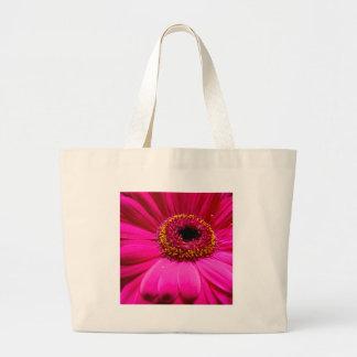 hot pink gerber daisy bags