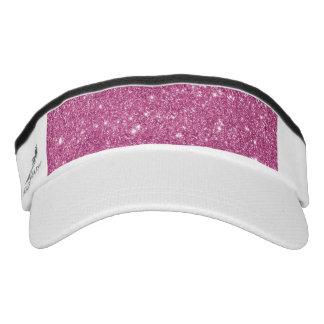Hot Pink Glitter Sparkles Visor