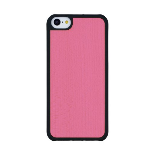 Hot Pink High End Solid Colored Carved® Maple iPhone 5C Case