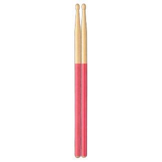 Hot Pink High End Solid Colored Drumsticks