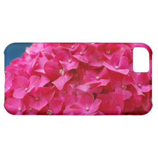 Hot Pink Hydrangea iPhone 5C Covers
