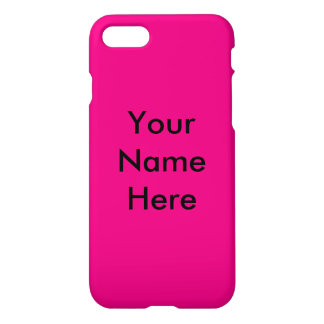 Hot Pink! iPhone 7 Case
