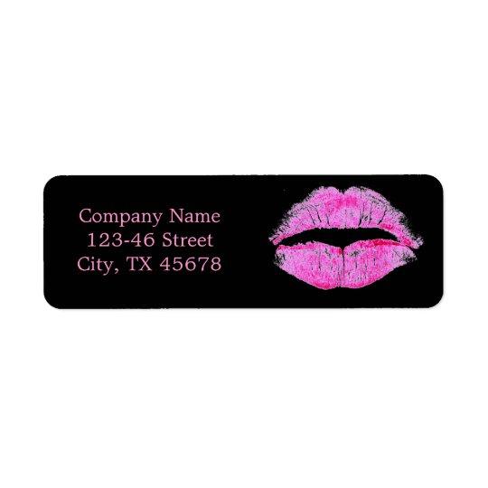 hot pink kiss Makeup Artist Business
