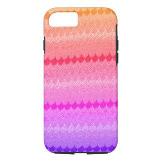 Hot Pink Knit Crochet Wool iPhone 7 Case