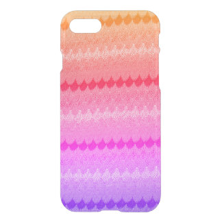 Hot Pink Knit Crochet Wool iPhone 8/7 Case