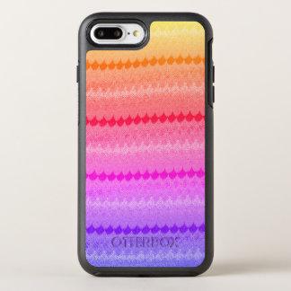 Hot Pink Knit Crochet Wool OtterBox Symmetry iPhone 7 Plus Case