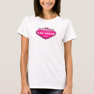 HOT PINK Las Vegas Sign Ladies  Top