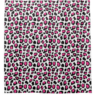 Hot Pink Leopard Animal Spots Print Pattern Girl