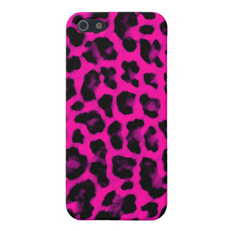 Hot Pink Leopard Print Covers For iPhone 5