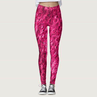 Hot Pink Love Leggings