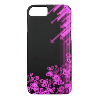 Hot Pink Metal Abstract iPhone 7 Case