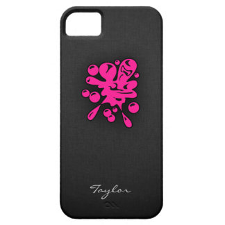 Hot Pink Paintball iPhone 5 Case